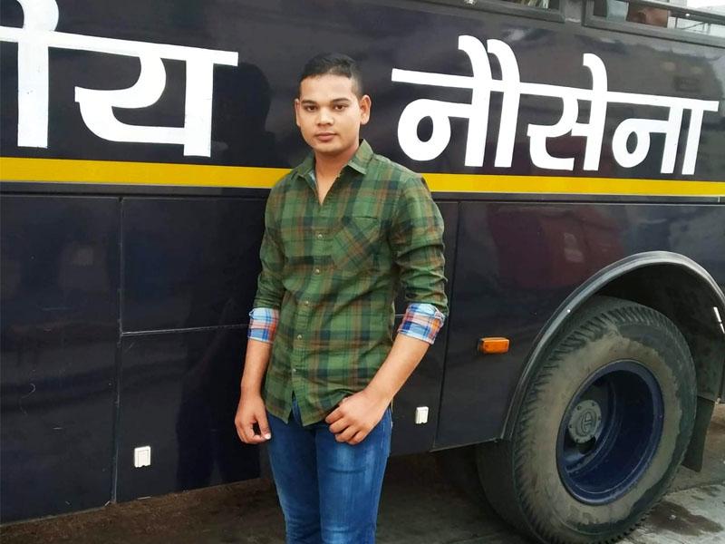 Saunak Agnihotri NAVY – 2018